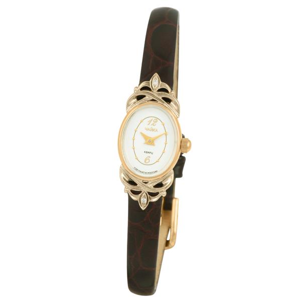 Женские золотые часы «Нежность» Арт.: 44350-346.152