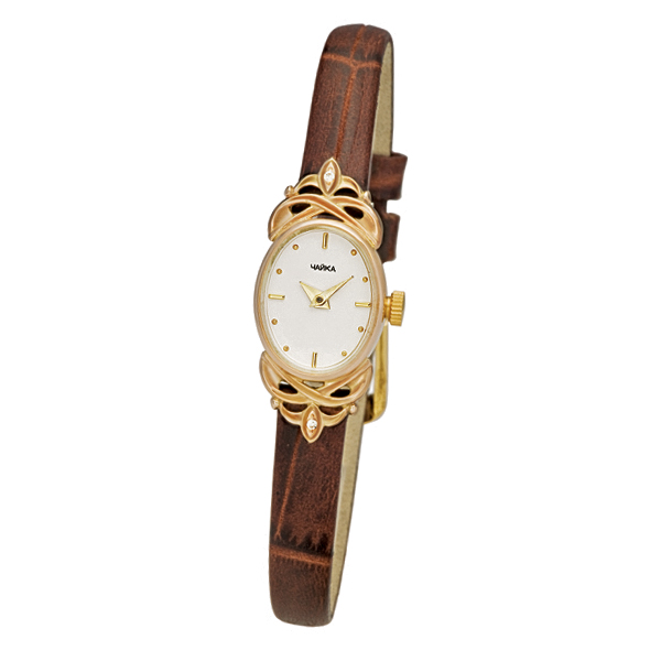 Женские золотые часы «Нежность» Арт.: 44330-356.101