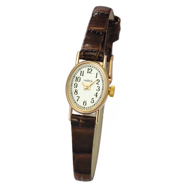 Женские золотые часы «Нежность» Арт.: 44350.150 на браслете Арт.: 316088
