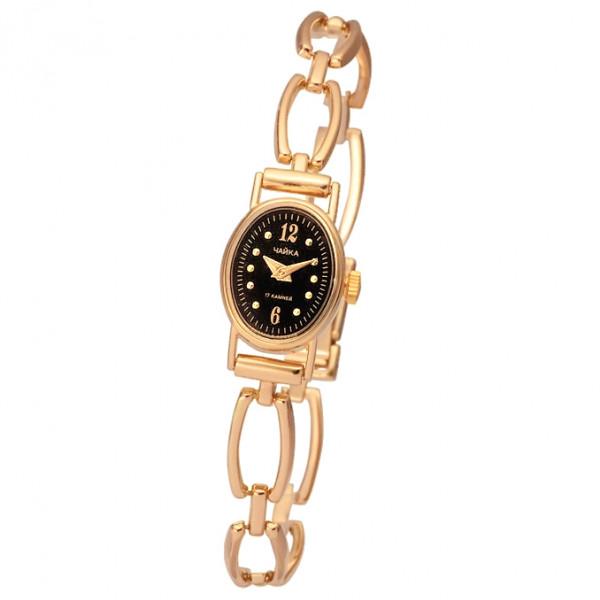 Женские золотые часы «Нежность» Арт.: 44330.506 на браслете Арт.: 51237
