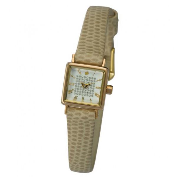 Женские золотые часы «Алисия» Арт.: 44530-1.119