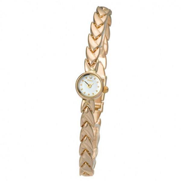 Женские золотые часы «Софи» Арт.: 44630.101 на браслете Арт.: 50102