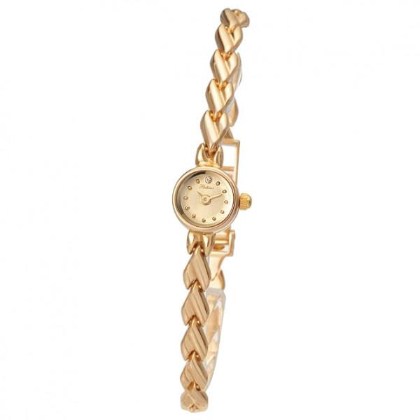 Женские золотые часы «Софи» Арт.: 44630.401 на браслете Арт.: 50088