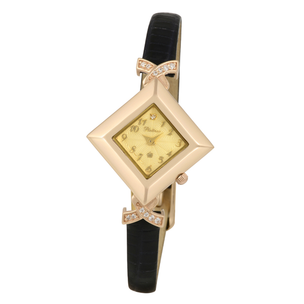 Женские золотые часы «Агата» Арт.: 44956.411