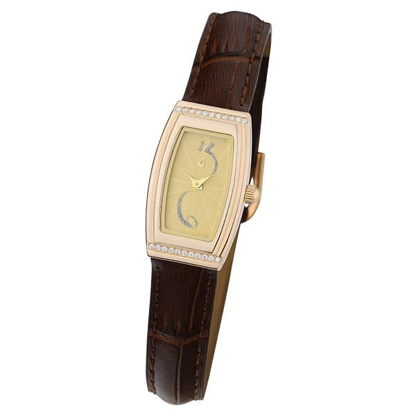 Женские золотые часы «Джина» Арт.: 45056.428