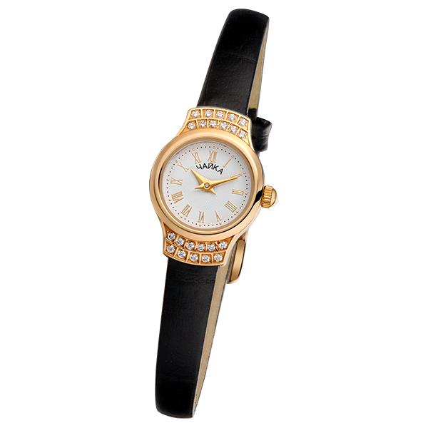Женские золотые часы «Чайка» Арт.: 45256-1.120