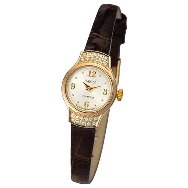 Женские золотые часы «Чайка» Арт.: 45256-1.206