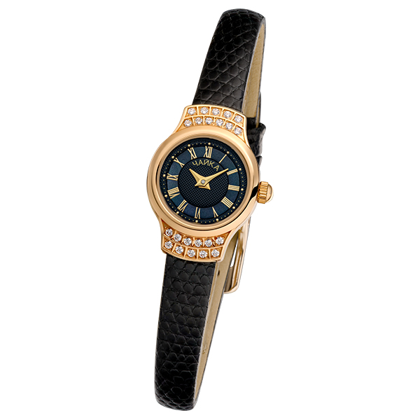 Женские золотые часы «Чайка» Арт.: 45256-1.521