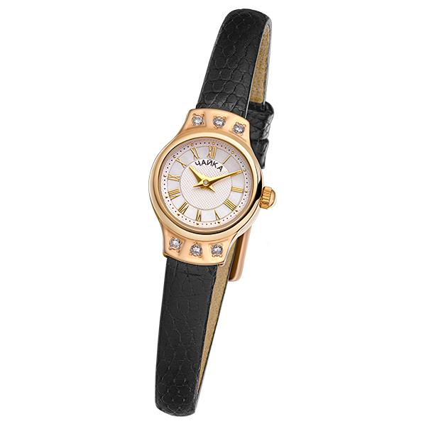 Женские золотые часы «Чайка» Арт.: 45256-2.217