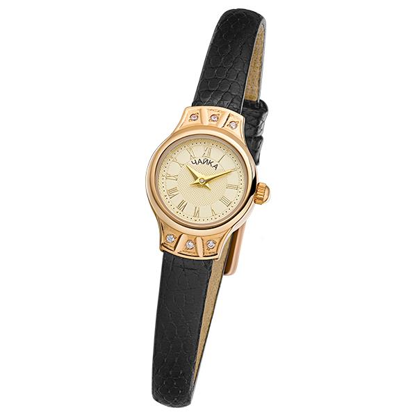 Женские золотые часы «Чайка» Арт.: 45256-2.421