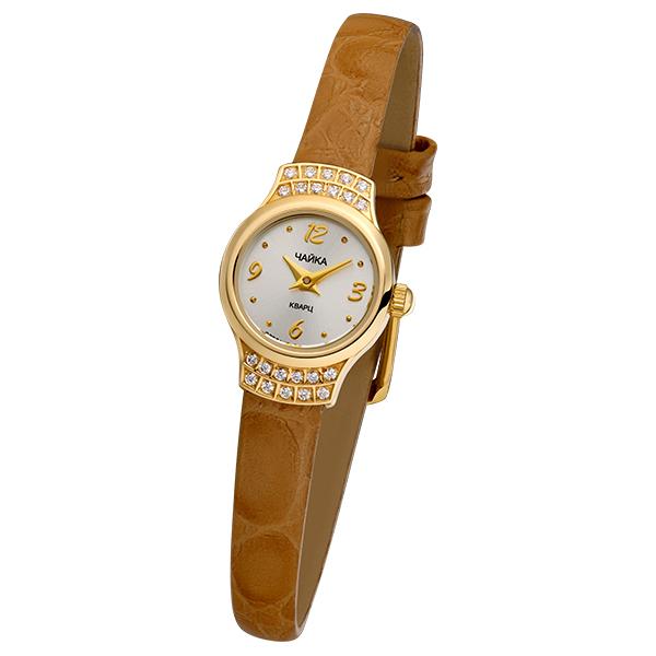 Женские золотые часы «Чайка» Арт.: 45266-1.206