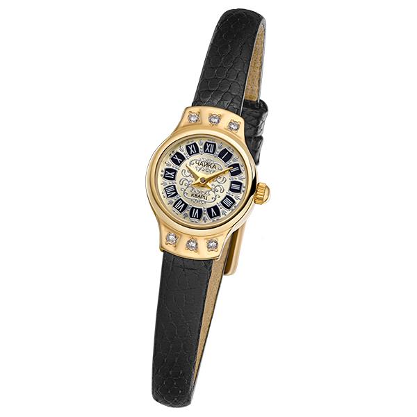 Женские золотые часы «Чайка» Арт.: 45266-2.448