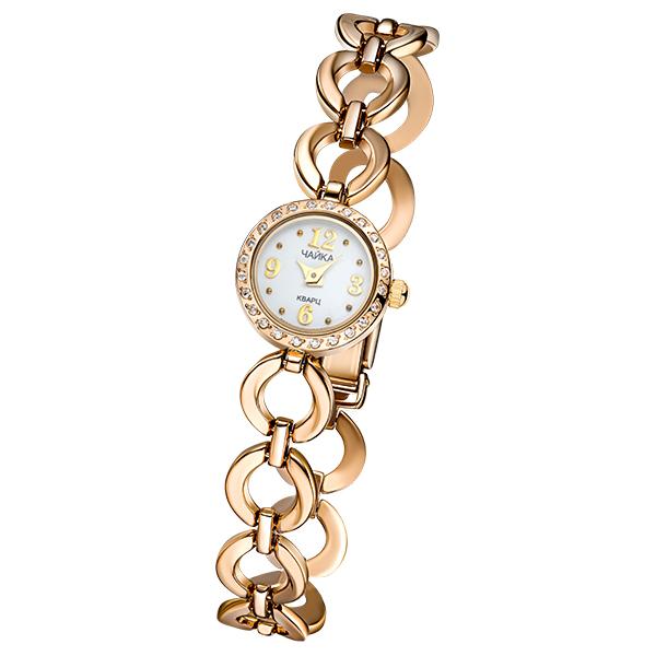 Женские золотые часы «Виктория» на корпус-браслете, арт.: 46736.106