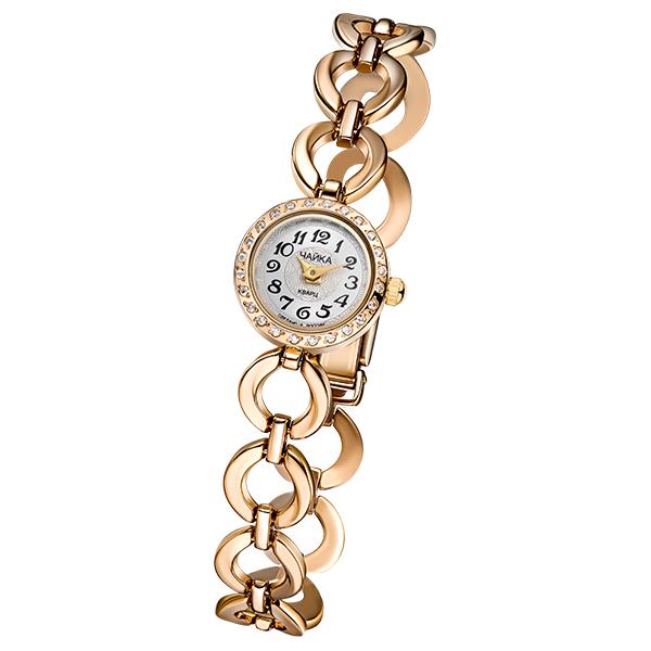 Женские золотые часы «Виктория» на корпус-браслете, арт.: 46736.211