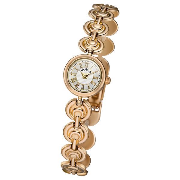 Женские золотые часы «Виктория» на корпус-браслете, арт.: 46830.117