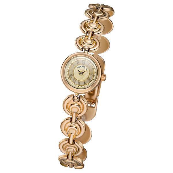 Женские золотые часы «Виктория» на корпус-браслете, арт.: 46830.417