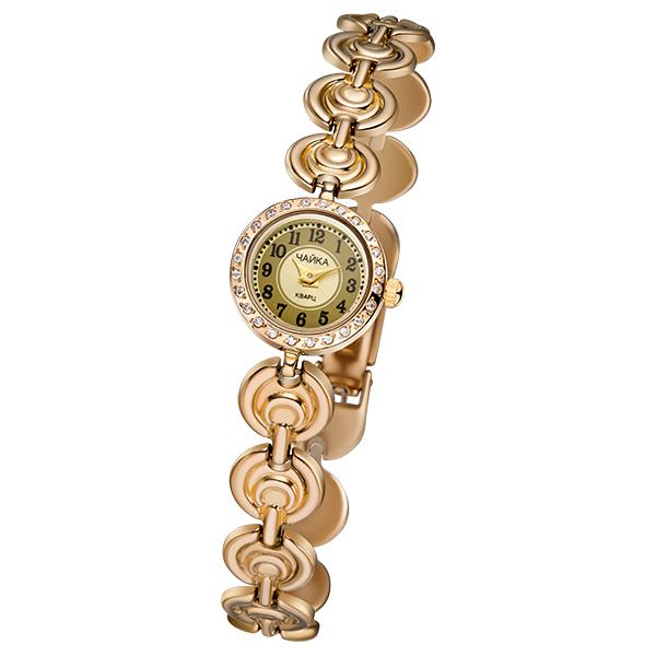 Женские золотые часы «Виктория» на корпус-браслете, арт.: 46836.449