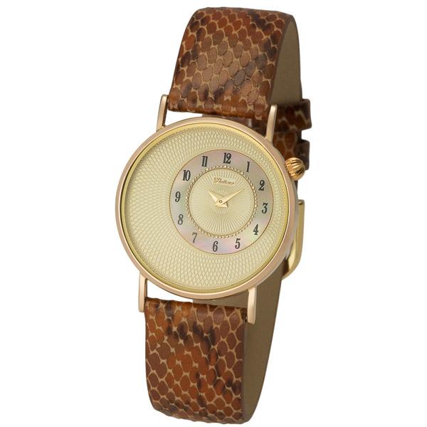 Женские золотые часы «Сьюзен» Арт.: 54550-4.407
