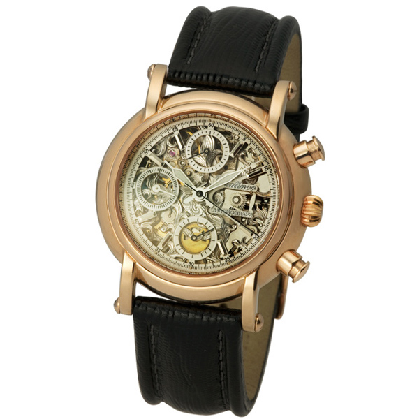 Мужские золотые часы «Адмирал-2» Арт.: 57150СД.255