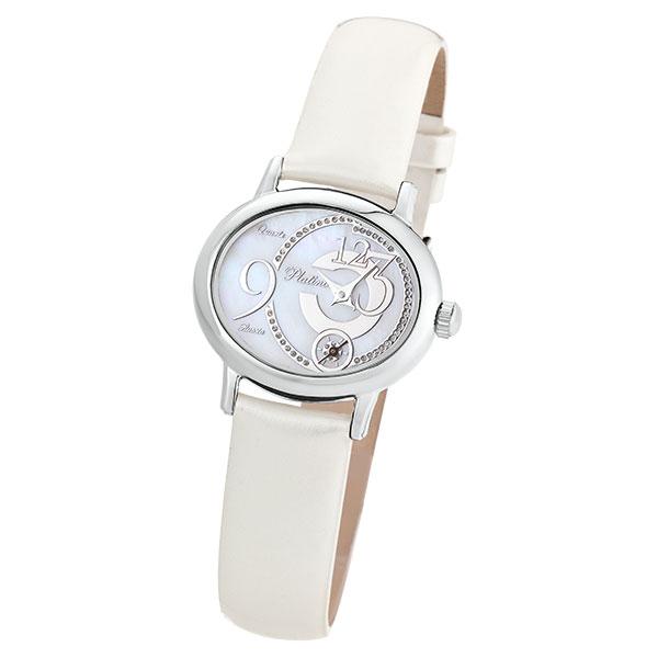 Женские серебряные часы «Аврора» Арт.: 74000.328