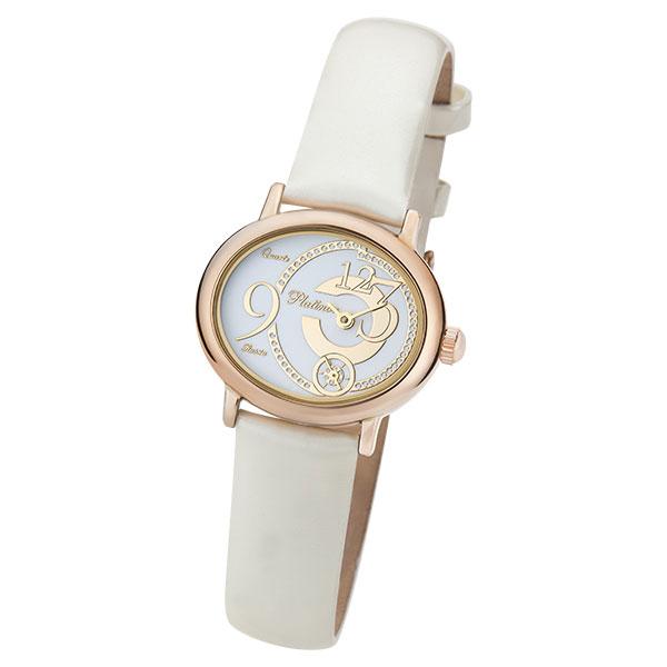 Женские золотые часы «Аврора» Арт.: 74050.328