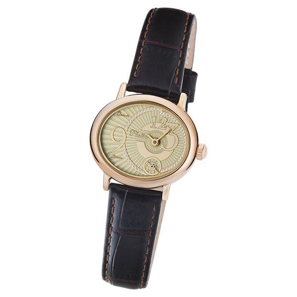 Женские золотые часы «Аврора» Арт.: 74050.427
