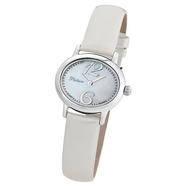 Женские серебряные часы «Аврора» Арт.: 74100.306