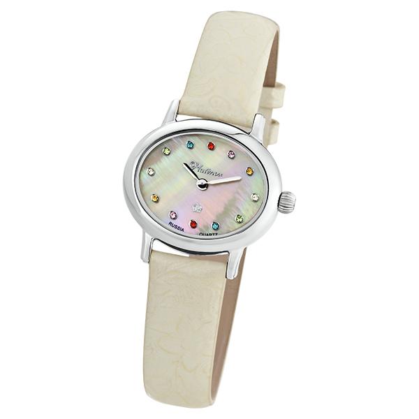 Женские серебряные часы «Аврора» Арт.: 74100.325