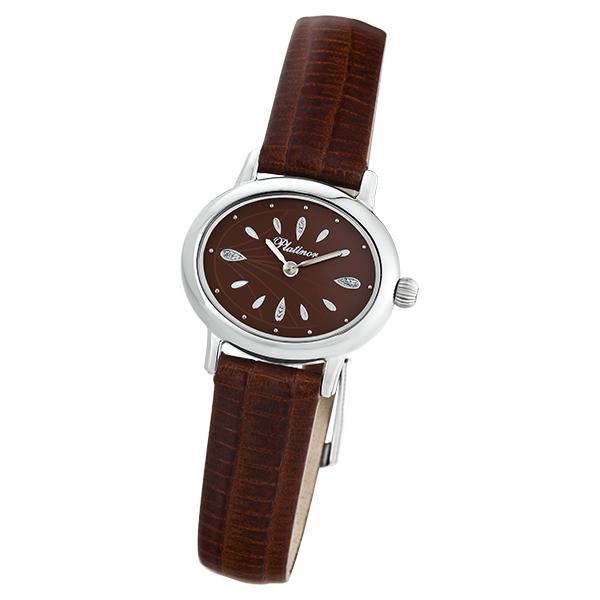 Женские серебряные часы «Аврора» Арт.: 74100.724