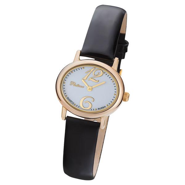 Женские золотые часы «Аврора» Арт.: 74150.106