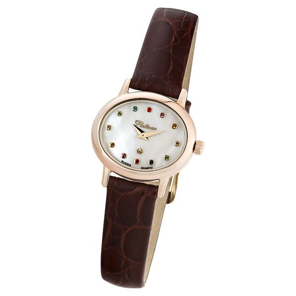 Женские золотые часы «Аврора» Арт.: 74150.325