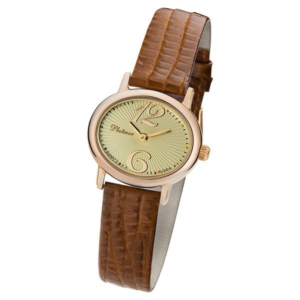 Женские золотые часы «Аврора» Арт.: 74150.412
