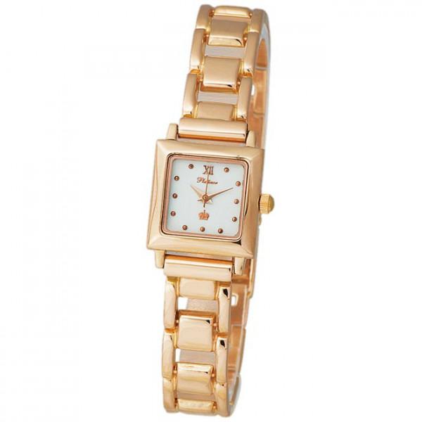 Женские золотые часы «Джулия» Арт.: 90250.116 на браслете Арт.: 53226