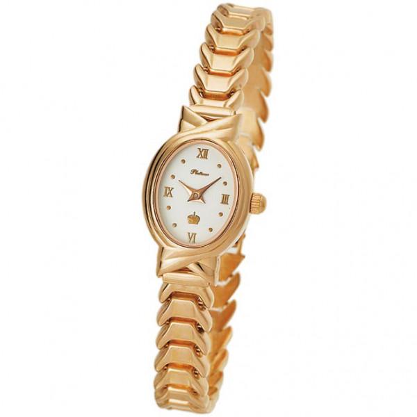 Женские золотые часы «Ассоль» Арт.: 90350.116 на браслете Арт.: 723