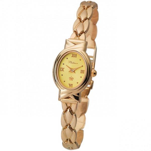 Женские золотые часы «Ассоль» Арт.: 90350.416 на браслет Арт.: 51234
