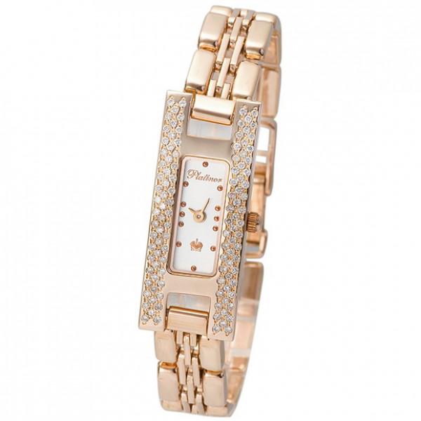Женские золотые часы «Инга» Арт.: 90451.101 на браслете Арт.: 50587