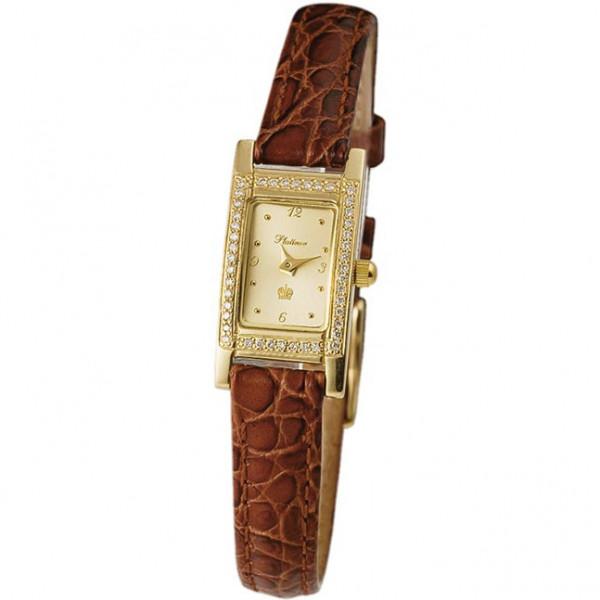 Женские золотые часы «Мадлен» Арт.: 90511-4.406
