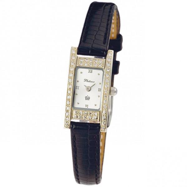 Женские золотые часы «Мадлен» Арт.: 90541-1.216