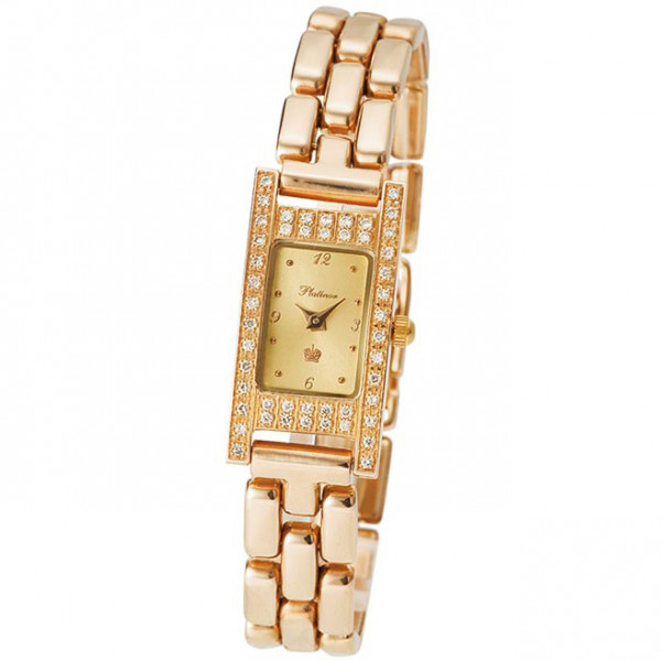 Женские золотые часы «Мадлен» Арт.: 90551-1.406