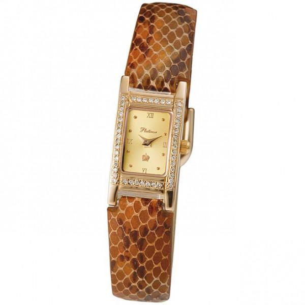 Женские золотые часы «Мадлен» Арт.: 90551-4.416