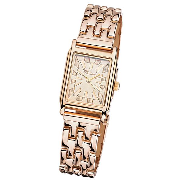 Женские золотые часы «Ирена» Арт.: 90750.427 на браслете арт.: 54220