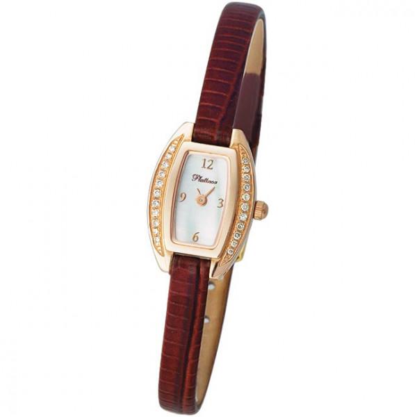 Женские золотые часы «Снежана» Арт.: 91151.306