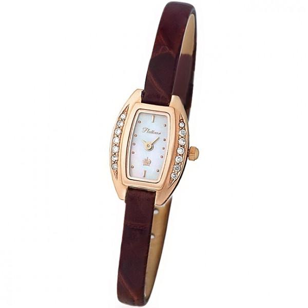 Женские золотые часы «Снежана» Арт.: 91151.301