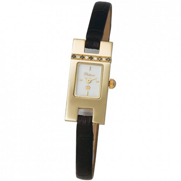 Женские золотые часы «Северное сияние» Арт.: 91415.103