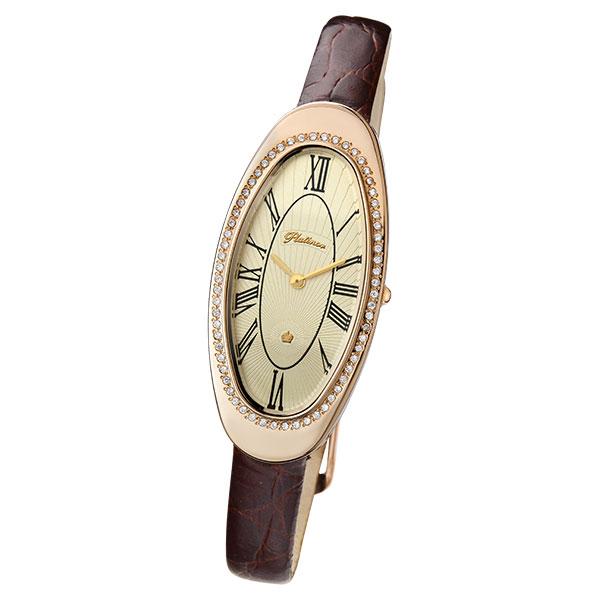 Женские золотые часы «Стефани» Арт.: 92856.421