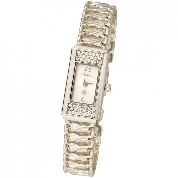 Женские золотые часы «Николь» Арт.: 94746.206 на браслете Арт.: 23013