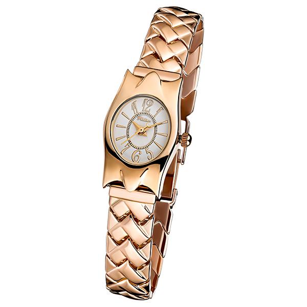 Женские золотые часы «Элен» Арт.: 95550.110 на браслете арт.:52225