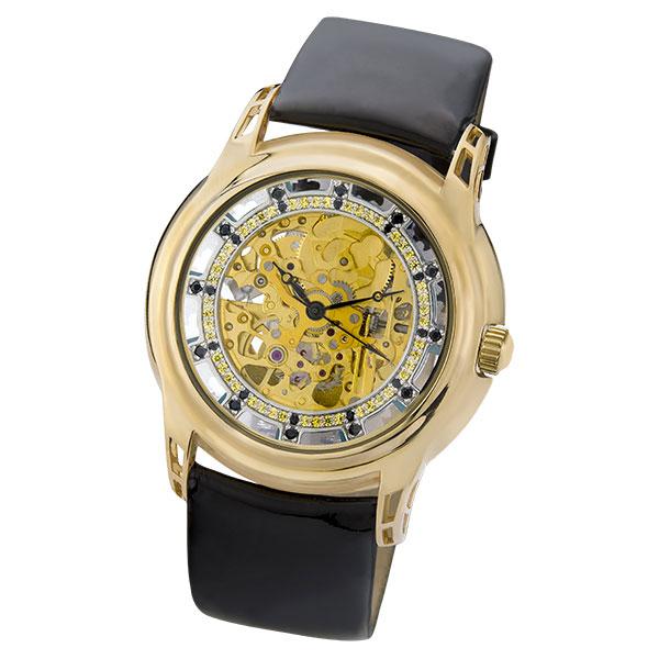 Женские золотые часы «Ванесса» Арт.: 963630.456