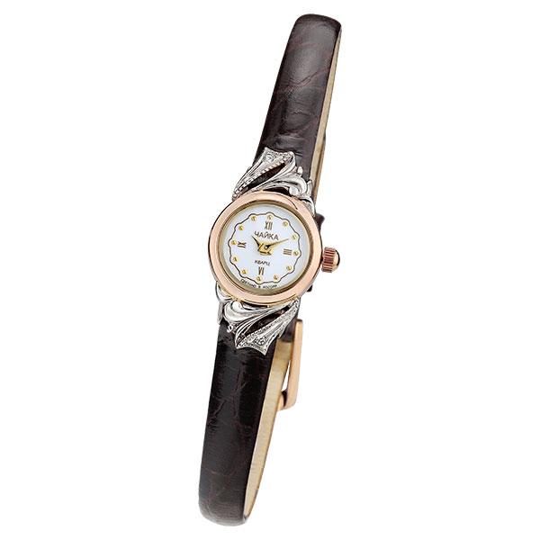 Женские золотые часы «Виктория» Арт.: 97050-146.146