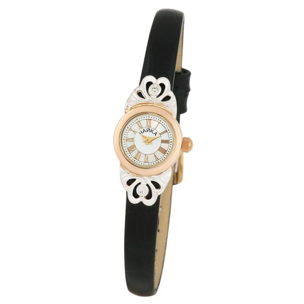 Женские золотые часы «Виктория» Арт.: 97050-246.317
